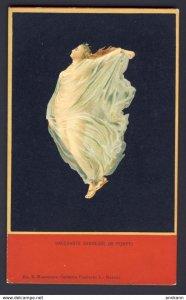 Bacchante Danseuse De Pompei - nude woman clad with sheer sheet.