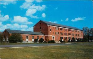 FBI Academy Quantico Virginia VA pm 1956 Federal Bureau Investigation Postcard