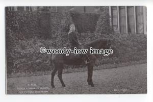 r1061 - Princess Edward of Wales on a pony - postcard