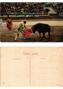 CPA Bullfighting - Bombita pasando de muleta (775766)