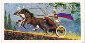 Trade Cards Brooke Bond Tea Transport Through The Ages No 5 Chariot