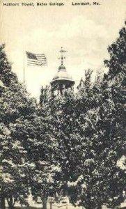 Hathorn Tower, Bates College in Lewiston, Maine