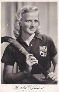 RP; Woman with Field Hockey stick , 20-30s