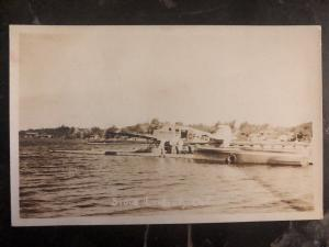 Mint Canada RPPC Postcard Seaplane Ontario