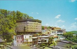 View Of The Park Hotel And Downtown Eureka Springs Arkansas