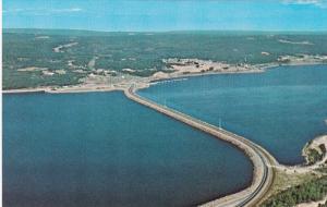Aerial View, Canso Causeway, CAPE BRETON, Nova Scotia, Canada, 40-60´