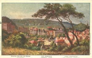France, Chatel-Guyon-Les-Bains, Vue generale, early 1900s...