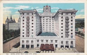 Hotel Utah, SALT LAKE CITY, Utah, 1910-1920s