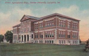 Indiana Lafayette 9785 Agricultural Bldg Purdue University