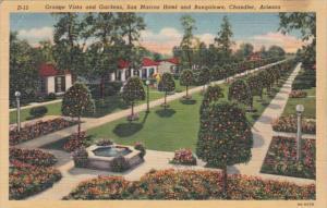 Arizona Chandler San Marcos Hotel and Bungalows Orange Vista and Gardens Curt...