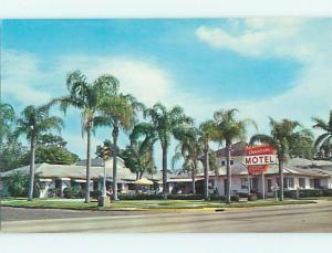Unused Pre-1980 AMERICANA MOTEL Sarasota Florida FL s4214