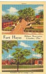Fort Hayes, Military Reservation, Columbus, Ohio, 30-40s