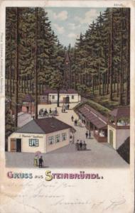 Austria Gruss Aus Steinbruendl 1906