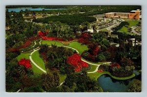 Cypress Garden FL- Florida, Aerial View of Cypress Gardens, Chrome Postcard