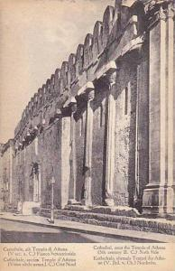 Cathedrale Once The Temple Of Athena (5th Century B.C.), North Side, Greece, ...