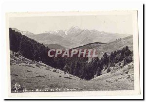 Old Postcard Pic du Midi seen neck d & # 39Aspin