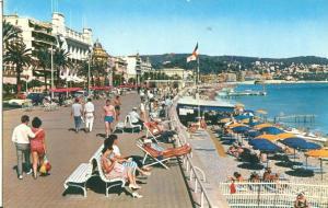 Nice, La Promenade des Anglais, 1968 used Postcard
