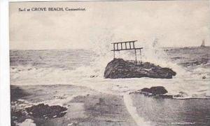 Connecticut Grove Beach Surf Albertype