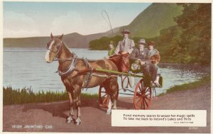 IRELAND , 00-10s ; Jaunting Car