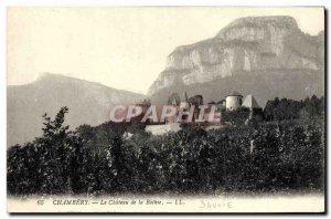 Old Postcard Chambery Le Chateau De La Bathie