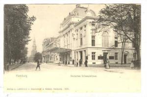 Hamburg , Deutsches Schauspielhaus , Germany , 1890s-1905