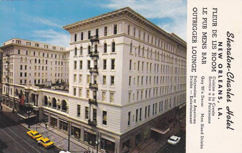 Sheraton-Charles Hotel, New Orleans,Louisiana, 40-60s