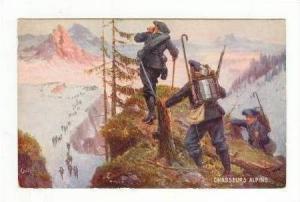 Les Chasseurs Alpins, 00-10s TUCK