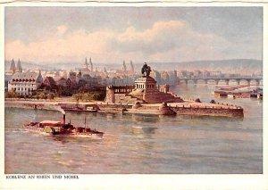 Koblenz an Rhein und Mosel Germany Unused