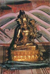 Mongolia White Tara Buddhism Art Museum Ulan Bator postcard