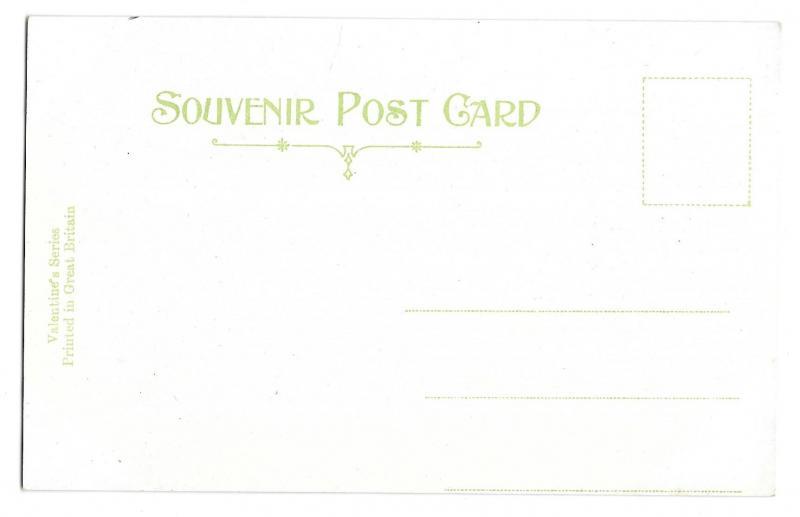 Scotland Loch Katrine Ellens Isle Ben Venue Vintage Postcard