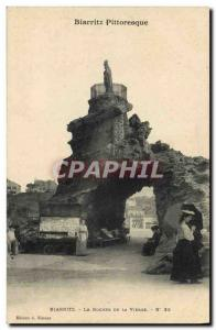 Postcards Old Postcards Trade Biarritz The rock of the Virgin TOP