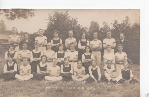 Northamptonshire Postcard - Hinton Gymnastic Club 1921 - A6490
