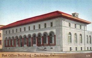BERKELEY, CA California  POST OFFICE BUILDING    c1910's Postcard