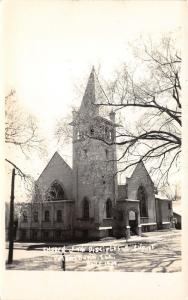 Petersburg Illinois~Church of the Disciples of Christ~Menard County~Vintage RPPC