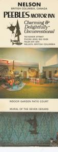 NELSON , B.C. , Canada , 50-60s ; Peebles Motor Inn ; Version-2