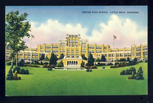 Little Rock, Arkansas/AR Postcard, Senior High School