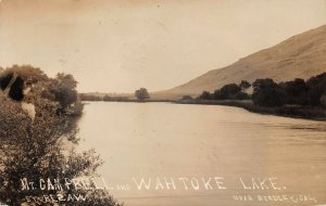 LPS26 Reedley California Mt. Campbell and Wahtoke Lake Postcard RPPC