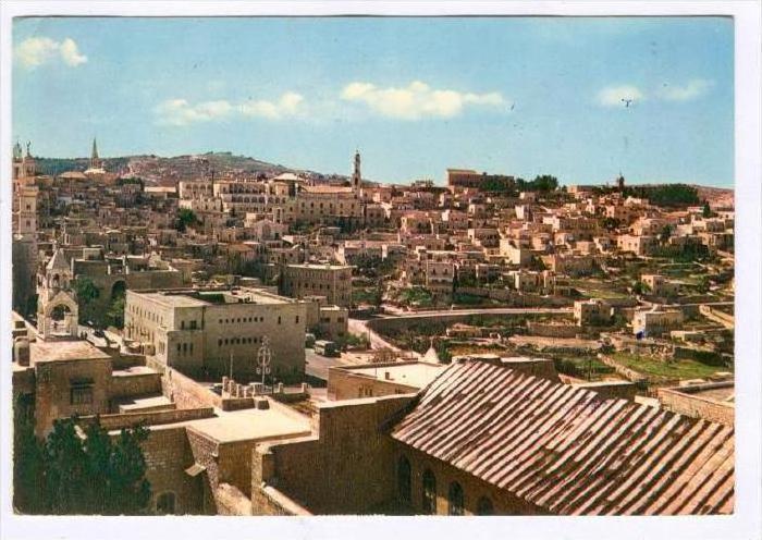 Panorama Of Bethlehem, Palestine , Asia, 1950-1970s