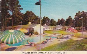 Georgia Sylvania Village Green Motel Swimming Pool