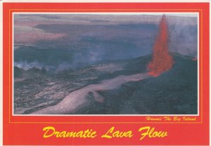 HAWAII, 1960-70s; Dramatic Lava Flow