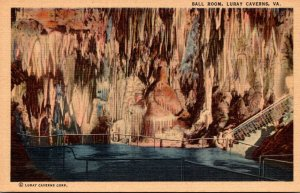 Virginia Caverns Of Luray Ball Room