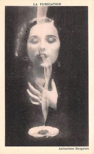 Medicine Advertising Old Vintage Antique Post Card La Fumigation Unused