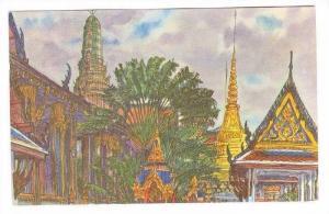 Wat Pra-Keo, Grand Palace, Thailand, 50-60s