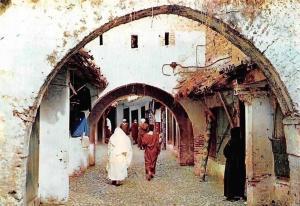 Morocco Xauen Calle Tipica, Typical Street Gate