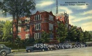 Admin Bldg Stephens College Columbia MO Unused