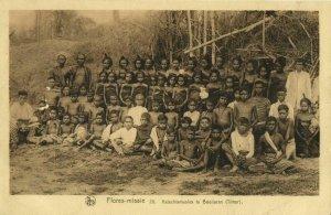 indonesia, TIMOR BUILARAN, Lesser Sunda, Boys and Girls Flores Mission (1920s)