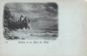 Chillon et la Dent de Midi Switzerland Tape on back