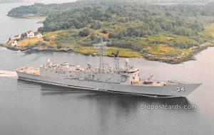 USS Aubrey Fitch, Guided Missile Frigate Military Battleship Unused