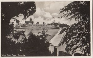 RP: Bermuda 1930s ; View from Paget