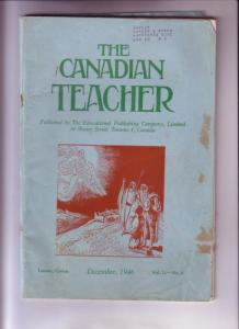 The Canadian Teacher, Many Pages for Duplicating, Lots of Christmas, December...